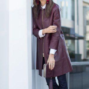 Kate spade madison avenue leather jacket coat 0